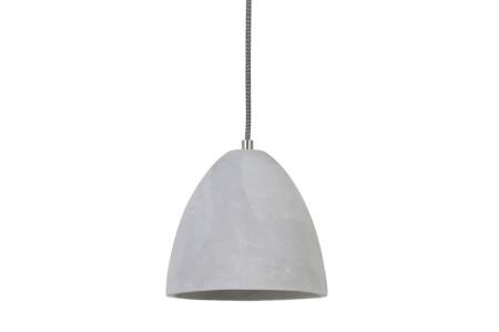 Hanglamp Devone cement Ø19,5X18 cm