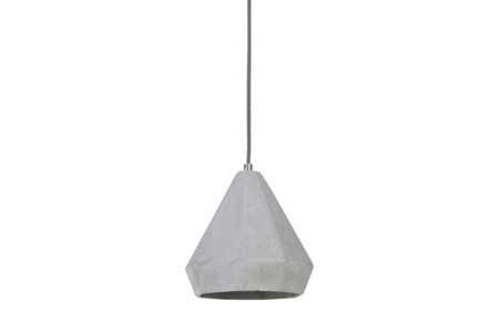 Hanglamp Devote cement Ø21,5X22 cm