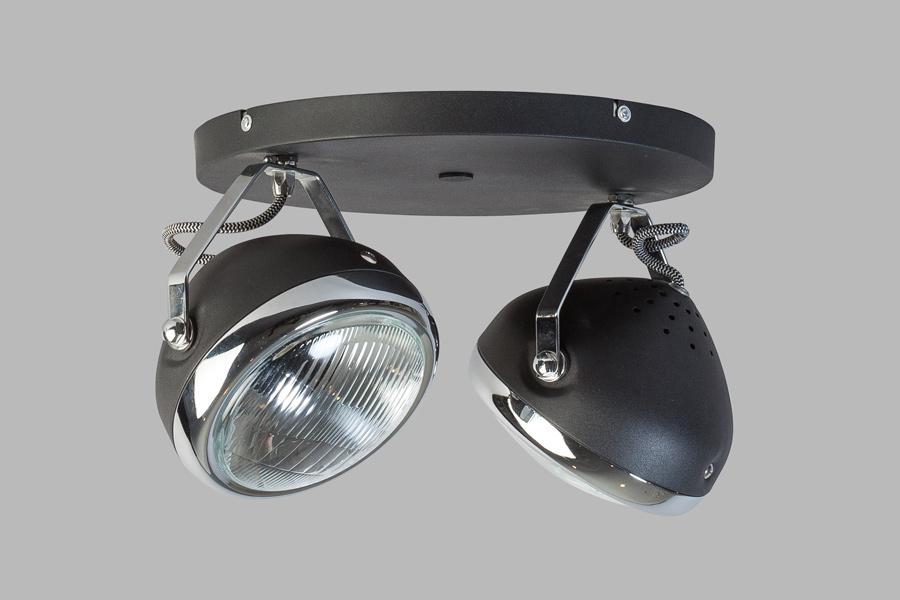 Plafondlampen Industrieel : Home gt plafondlamp head spot lichts ...