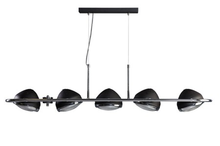 Headlight Hanglamp 5-lichts zwart