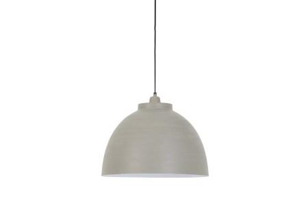 Hanglamp Kylie beton wit 45cm