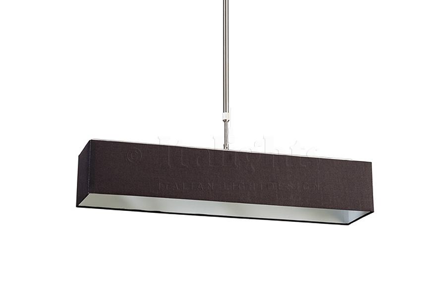 Hanglampen stoffen kap rechthoekige stoffen hanglamp a vendre